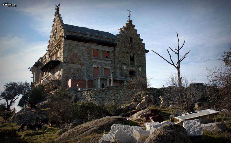 Casa palacio del canto del pico lista roja del patrimonio - Casa de franco torrelodones ...