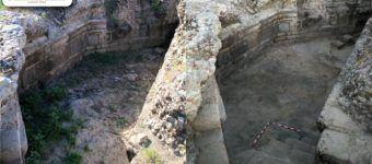 cripta tras los trabajos de limpieza