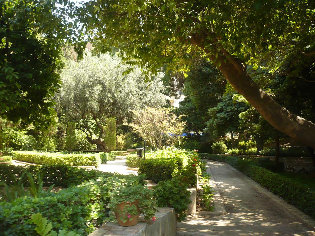 Jardines de Monforte - Lista Roja del Patrimonio