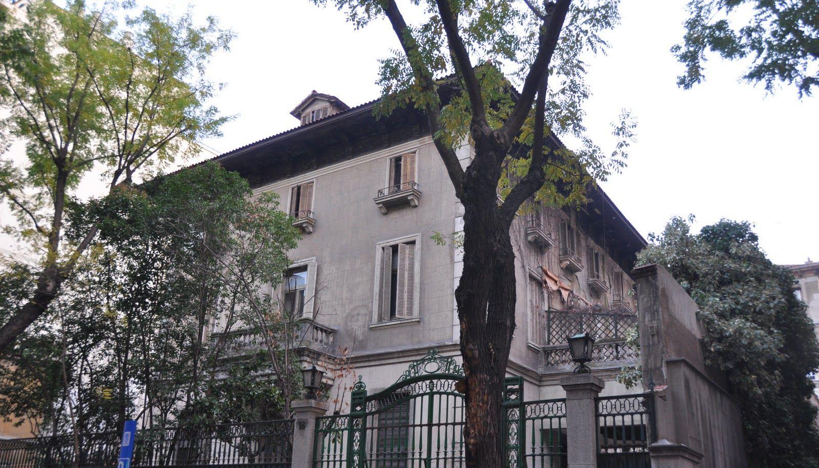Palacete de la calle villanueva lista roja del patrimonio - El escondite calle villanueva ...