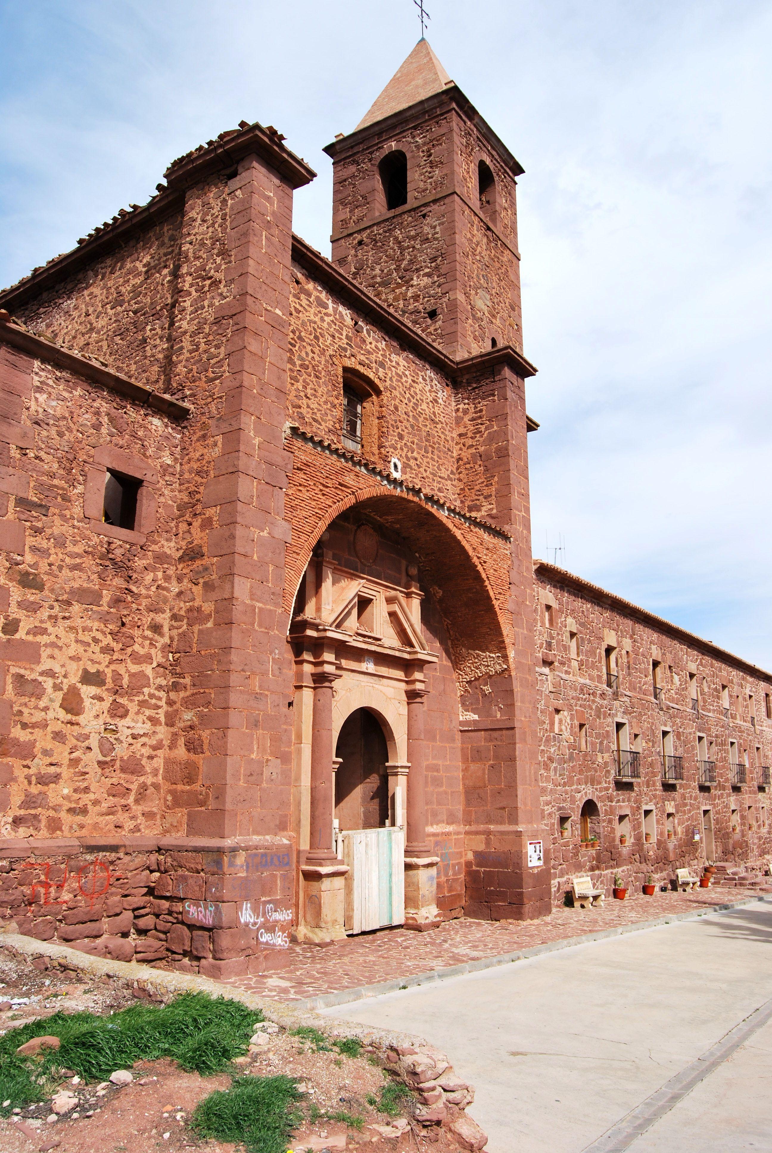 Lista Roja Iglesia Del Convento Dominico De Gotor