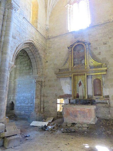Monasterio de Santa Cruz de la Zarza - Lista Roja del