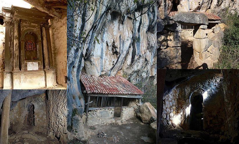 Resultado de imagen de Ermita rupestre de San Juan de Socueva